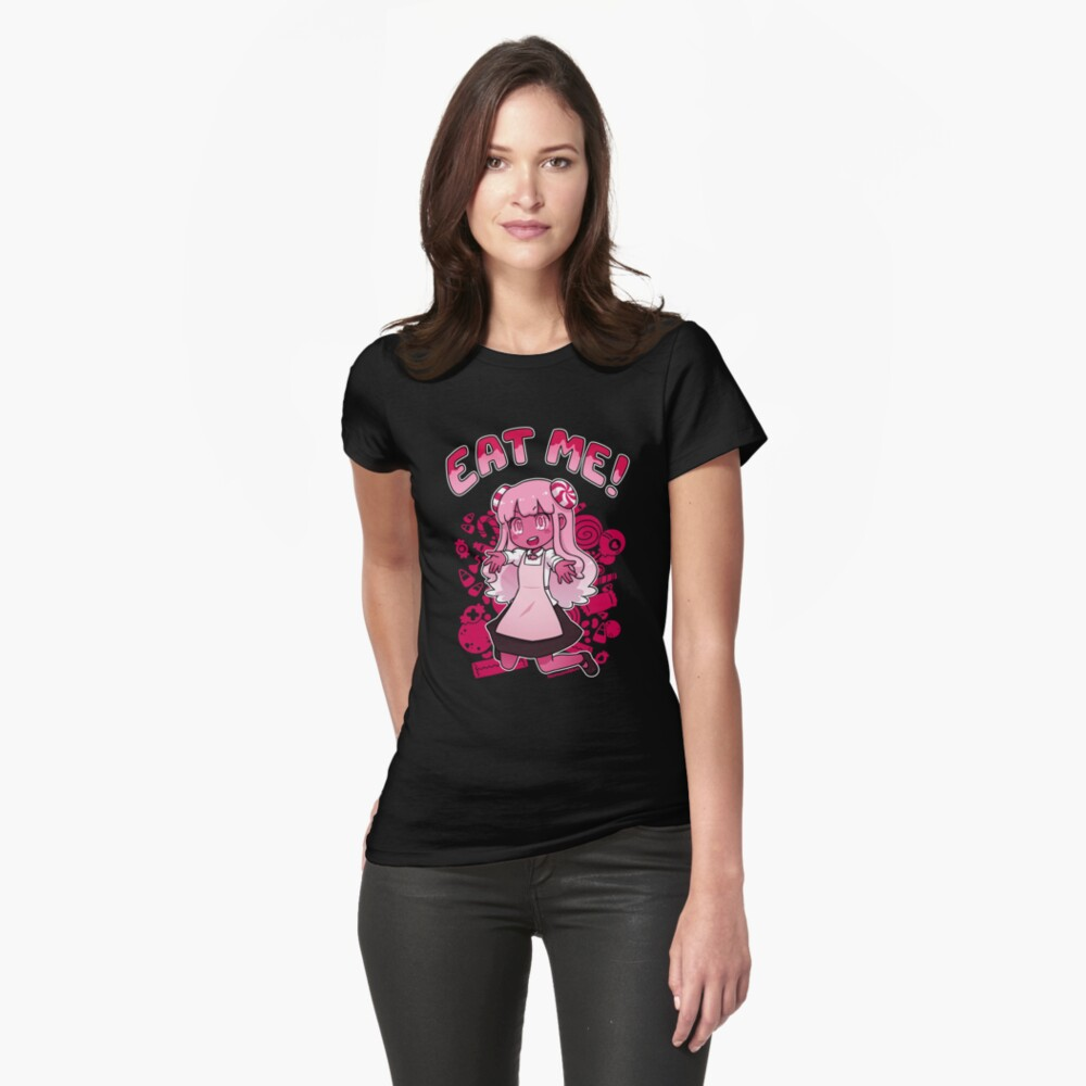 she's made of candy Fitted T-Shirt