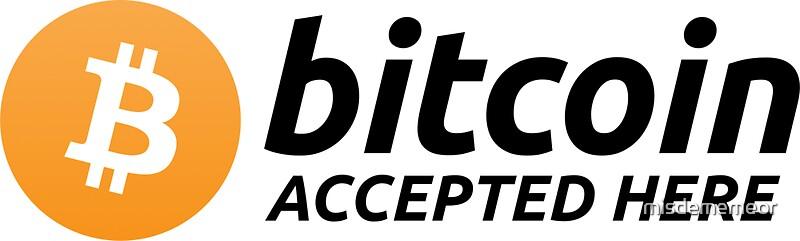 Bitcoins accepted logo design iasbet horse racing australia betting