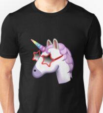 Unicorn Startstruck Emoji  Unisex T-Shirt