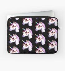 Unicorn Startstruck Emoji  Laptop Sleeve