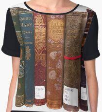 Vintage Books Chiffon Top