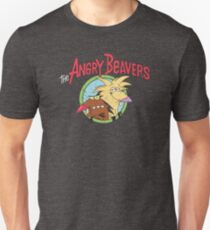 Angry Beavers Distressed T-Shirt