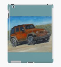 Jeep Original Oil Painting iPad Case/Skin