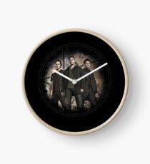 Supernatural Trio Clock