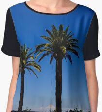 Palm Trees of Italy Women's Chiffon Top