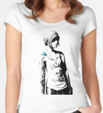 Chloe Price - Transparent - Life is Strange Women's Fitted Scoop T-Shirt