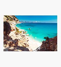 The beautiful Cala Goloritzè in Sardinia Photographic Print