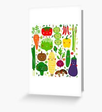 Eat your greens Greeting Card