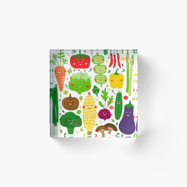 Eat your greens Acrylic Block