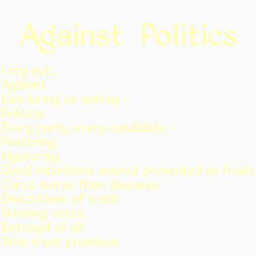 Against Politics (Light on Dark) by WanderingAuthor