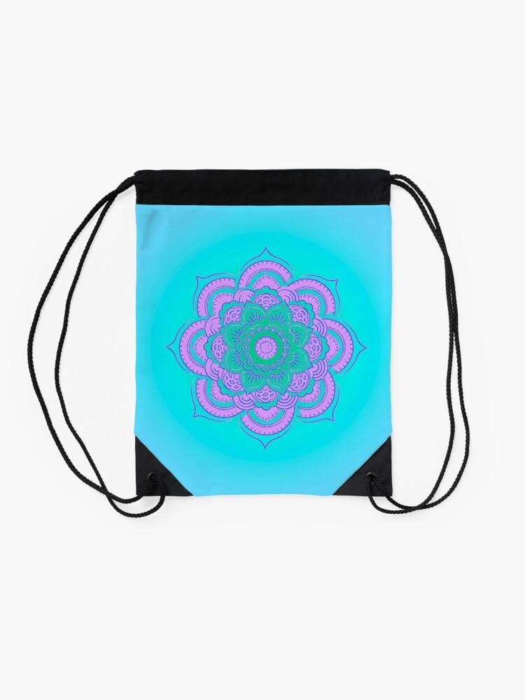 Alternate view of Namaste Drawstring Bag