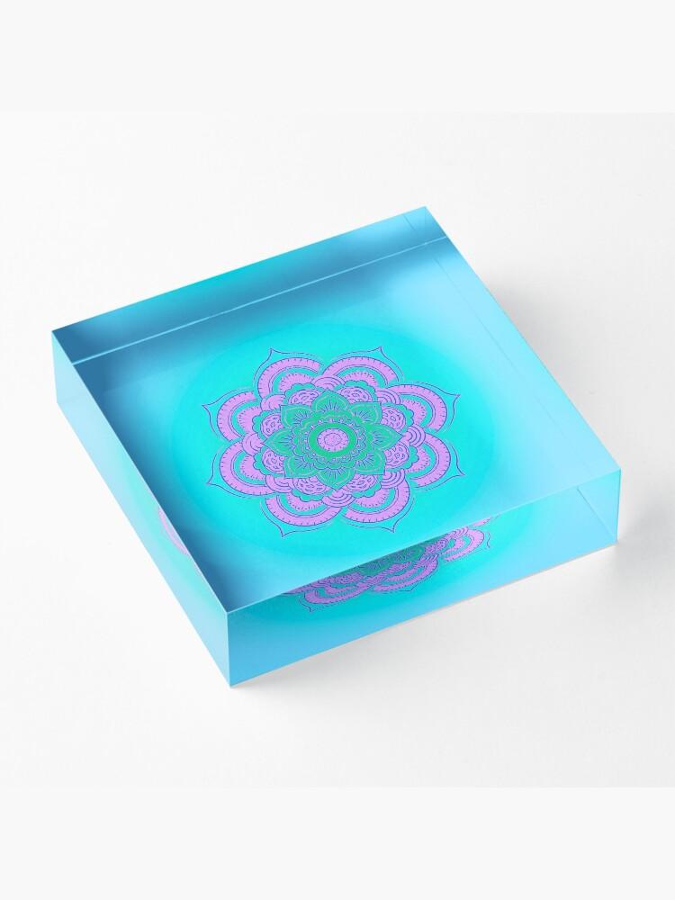 Alternate view of Namaste Acrylic Block
