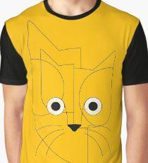 Curious cat Graphic T-Shirt