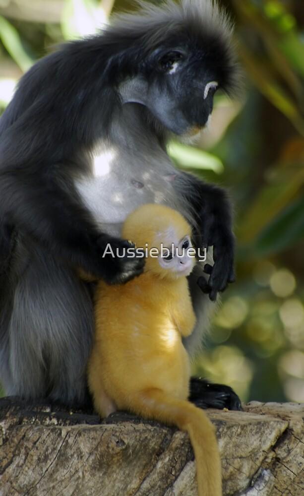 Mum & Baby 4 by Aussiebluey