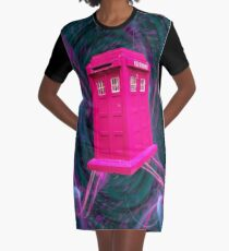 The Doc Box  Graphic T-Shirt Dress