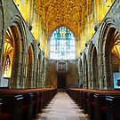 Sherborne Abbey, Dorset, England by trish725