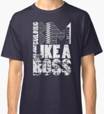 Building Information Modeling Like A Boss Design Classic T-Shirt