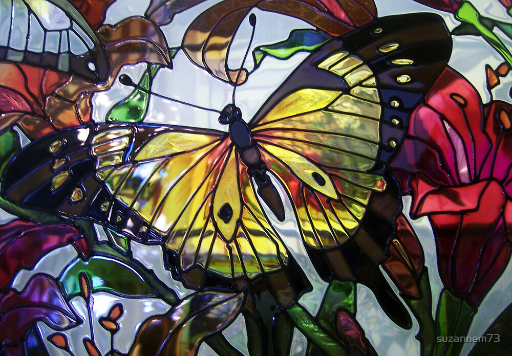 Glass Butterflies by suzannem73