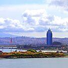 Izmir Skyline by Tom Gomez