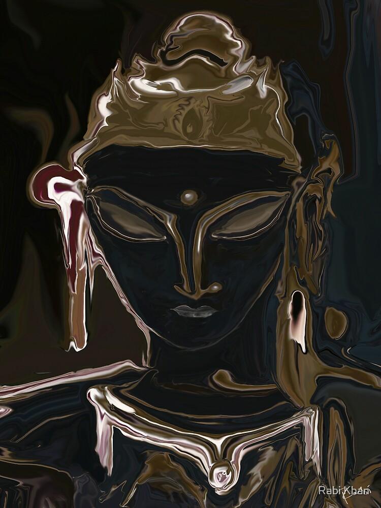 Portrait Of Vajrasattva by Rabi Khan