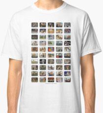 The Top 50 Movies 2017 | @CatTheMovies Classic T-Shirt