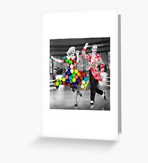 SWING CANDY Greeting Card