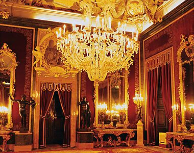 Inside of Royal Palace Madrid by chord0 Redbubble