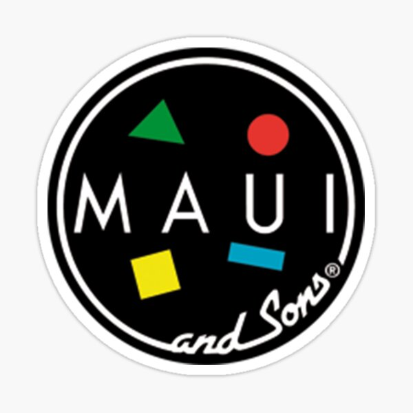 MAUI and Sons Sticker