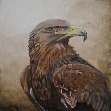 eagle  by sandradamenart
