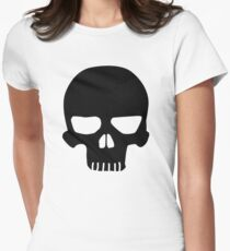 Pirate Skull Women's Fitted T-Shirt