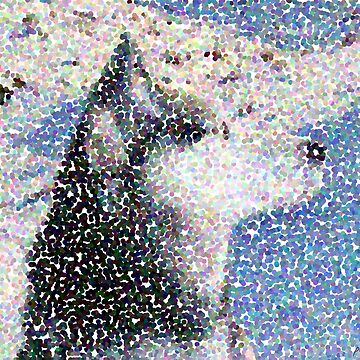 Husky-Malamute in snow by pathos-design