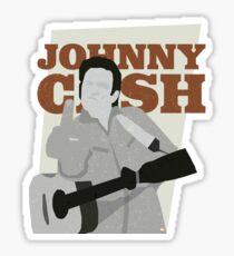 Johnny Cash at Folsom Prison Sticker