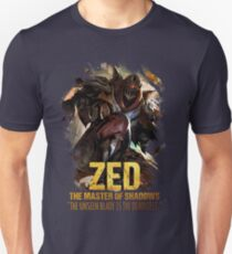 League of Legends ZED - [The Master Of Shadows] Unisex T-Shirt