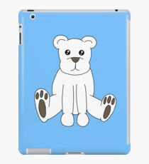 Cute Polar Bear iPad Case/Skin