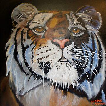 Tiger by sandradamenart