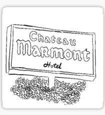Chateau Marmont Sticker