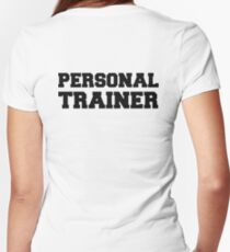 Personal Trainer Women's Fitted V-Neck T-Shirt