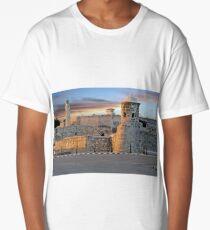 Morro Castle At Sunset Long T-Shirt