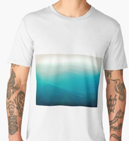 Vancouver Island from the air Men's Premium T-Shirt