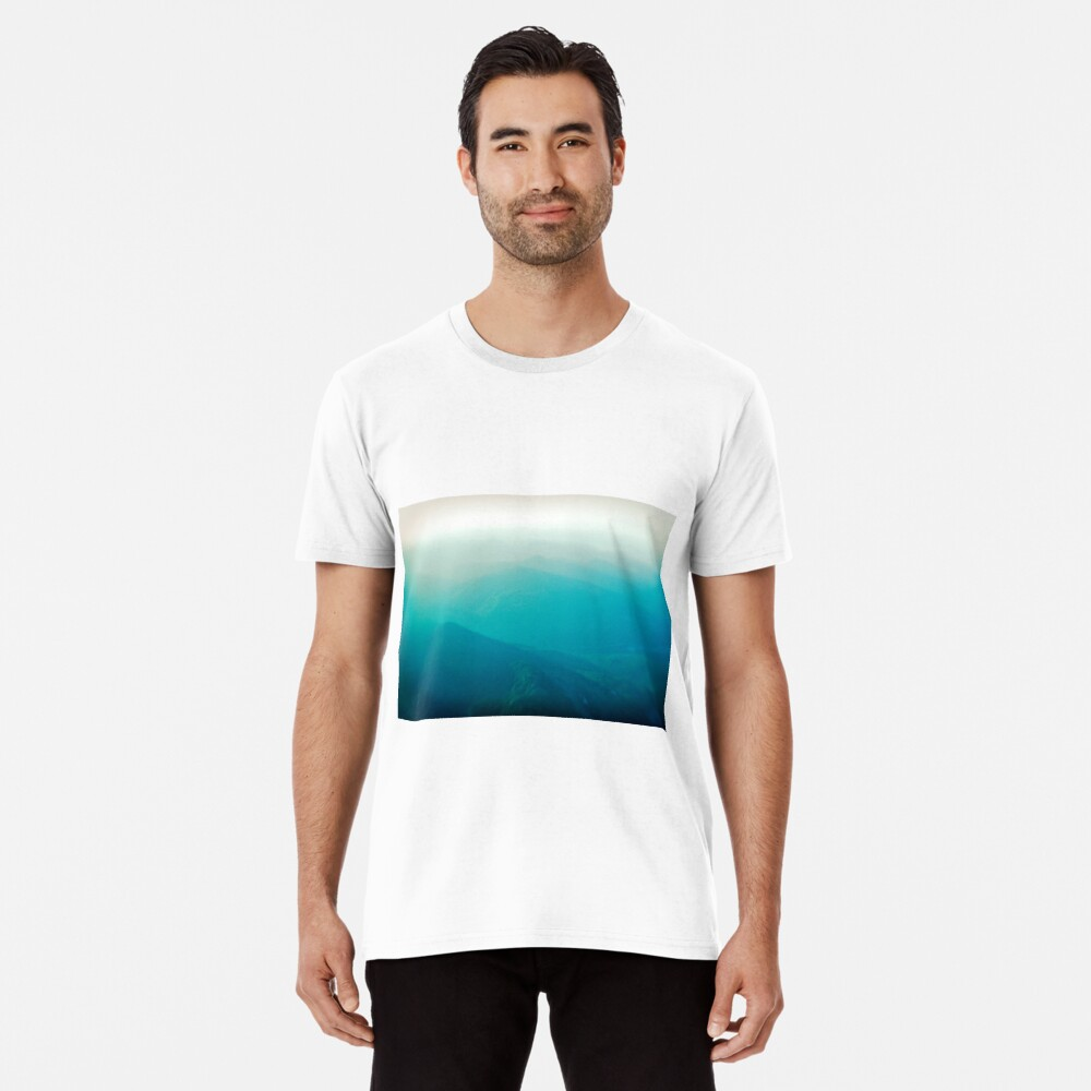 Vancouver Island from the air Premium T-Shirt