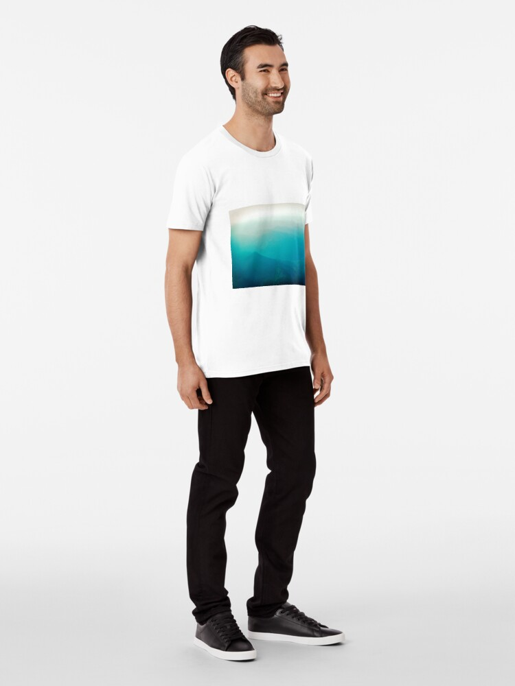 Alternate view of Vancouver Island from the air Premium T-Shirt
