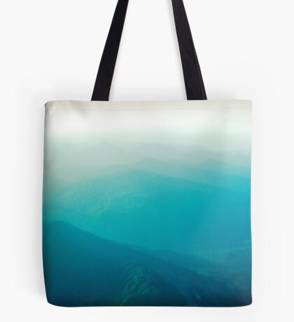 Vancouver Island from the air Tote Bag