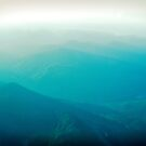 Vancouver Island from the air by Mel Brackstone