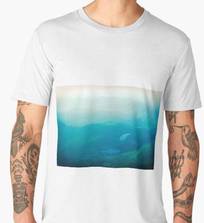 Vancouver Island aerial Men's Premium T-Shirt