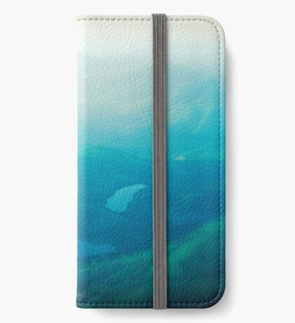 Vancouver Island aerial iPhone Wallet