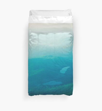 Vancouver Island aerial Duvet Cover