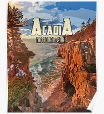Acadia National Park at Maine Poster