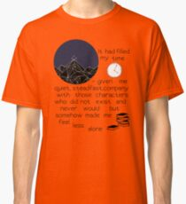 somehow made me feel less alone ACOMAF quote Classic T-Shirt