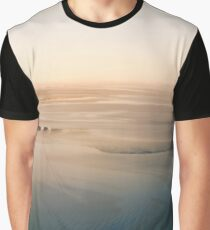 Lensbaby mudflats at sunrise Graphic T-Shirt