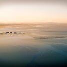 Lensbaby mudflats at sunrise by Mel Brackstone